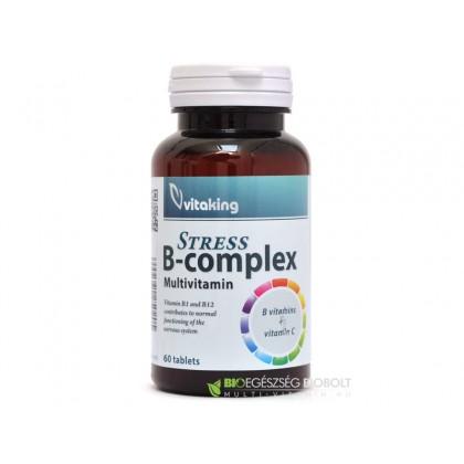 Vitaking B-Complex Stressz tabletta 60 db