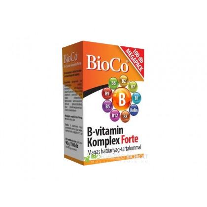 BioCo B-vitamin komplex FORTE 100 ks