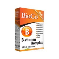 BioCo B-vitamin komplex tabletta 90 db