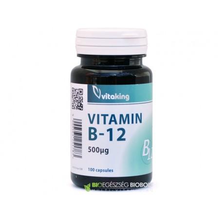 Vitaking B-12 vitamin 500 mcg 100 db