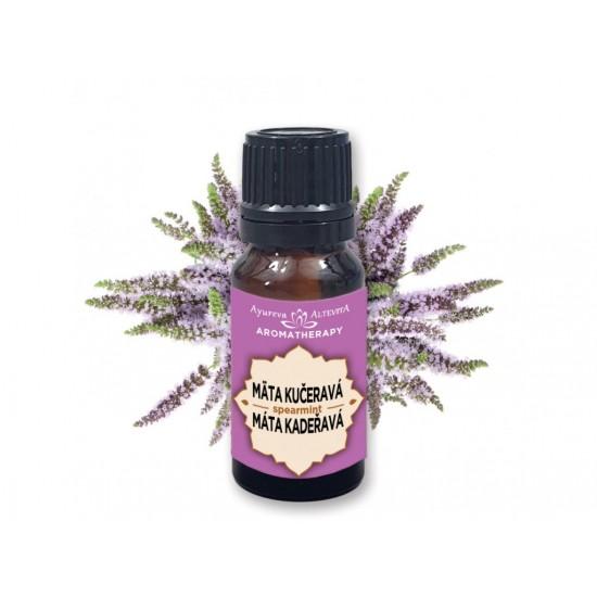 Altevita 100% esenciálny olej Mäta kučeravá - Spearmint - Olej záhradnej sviežosti 10ml