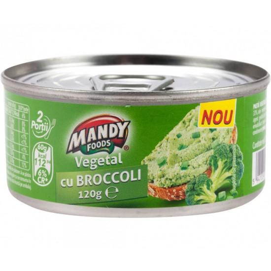Mandy Foods Brokolicová nátierka - Vegan 120g