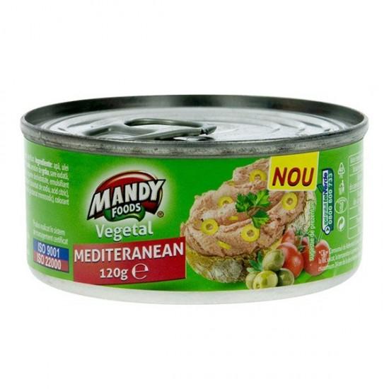 Mandy Foods Veganská nátierka - mediteranean - 120g
