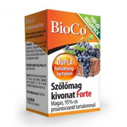 BioCo Extrakt z hroznových jadier - 100tbl