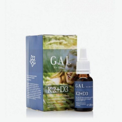 GAL Vitamín K2+D3  - 20ml