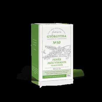 Györgytea Čajová zmes z agát biely - Refluxový čaj 50g