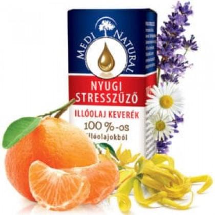 MediNatural Nyugi stresszűző illóolaj 10ml