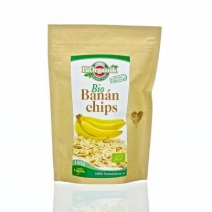 BiOrganik Banánové chipsy 100g