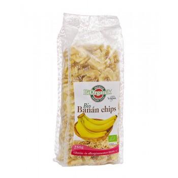 BiOrganik Banánové chipsy 250g