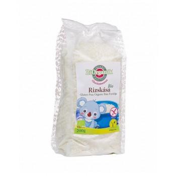 BiOrganik Instantná ryžová kaša bezlepková 200g