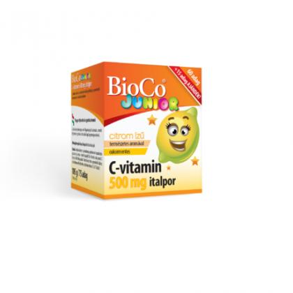 BioCo JUNIOR Nápojový prášok s Vitamínom-C  500mg