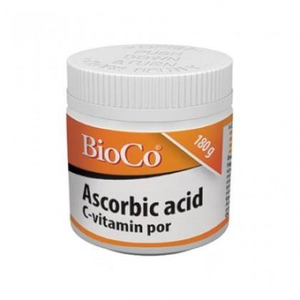 BioCo  ASCORBIC ACID Vitamín C prášok 180g