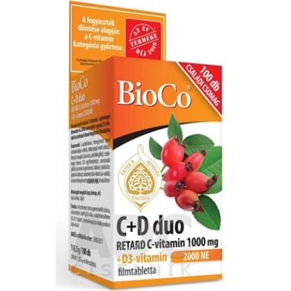 BioCo C+D duo 100tbl – rodinné balenie