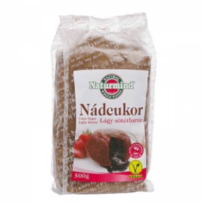 Naturmind Trstinový cukor jemný tmavohnedý 500 g