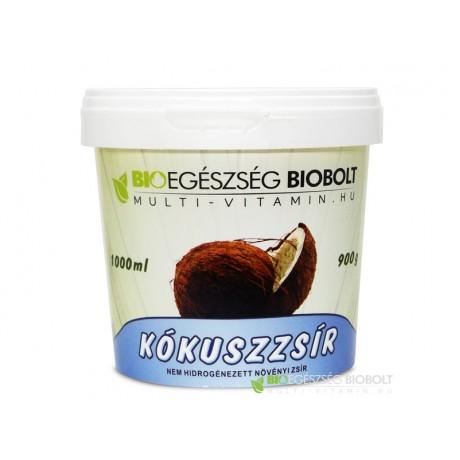 Kókuszzsír 1000ml (Kókuszolaj 1l Bio Egészség Kft)